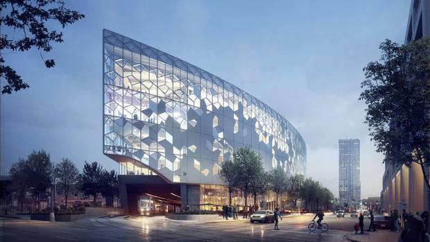In Calgary  a  245-million new central library is planned for the city