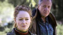 Miranda Otto and Geoffrey Rush in The Daughter. (Mongrel Media)
