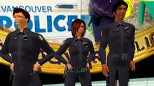 Vancouver Police department in Second Life.