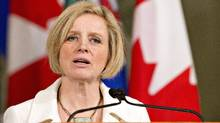 Rachel Notley in Edmonton on Feb. 3, 2016. (Jason Franson/The Canadian Press)
