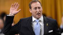Minister of Defence Peter MacKay responds to a question during question period in the House of Commons on Parliament Hill in Ottawa on Wednesday, April 24, 2013. (Sean Kilpatrick/THE CANADIAN PRESS)