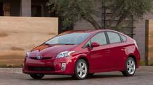 The Toyota Prius was the Canadian Black Book's compact car category winner. (Toyota)