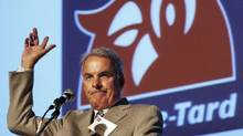 Alain Bouchard is taking on a 'new role' as founder and executive chairman of the board of the 12,600-store chain. (Ryan Remiorz/The Canadian Press)