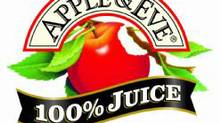 An Apple & Eve logo. (Apple & Eve website)