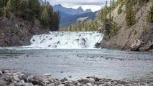 The Bow Falls in Banff National Park. Justin Trudeau had vowed to create 5,000 green jobs for young Canadians annually, with thousands slated to be guides and interpreters at Parks Canada. (Chris Bolin For The Globe and Mail)