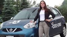 Stilina Anagnostakos, 20, launched her own business called Odd-Jobs in May to connect households in Aurora and Newmarket, Ont., with students who can help with tasks like cleaning, lawn care and babysitting