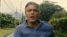 "Screen grab from the online trailer for the new Alexander Payne film ""The Descendants,"" starring George Clooney"