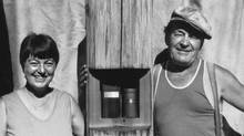 George Sawchuk with his wife, Pat.