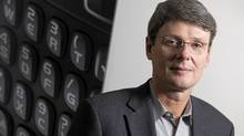 New RIM chief executive officer Thorsten Heins reports fourth-quarter results Thursday for the BlackBerry maker. (Geoff Robins/Reuters/Geoff Robins/Reuters)