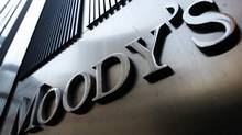 A Moody's sign is seen in New York in this file photo. (MIKE SEGAR/MIKE SEGAR/REUTERS)