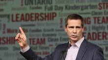 Ontario Premier Dalton McGuinty delivers a speech to the Ontario Liberal annual general meeting in Ottawa on Saturday. (FRED CHARTRAND/THE CANADIAN PRESS)