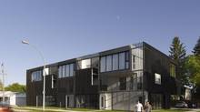Bloc_10 condominiums, Winnipeg, designed by 5468796 Architecture (James Brittain/James Brittain)