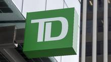 Toronto-Dominion Bank is backing down from a request for advertising agencies to help the bank avoid taxes on the agencies' fees. (Andrew Vaughan/THE CANADIAN PRESS)