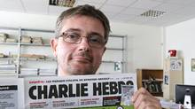 Stephane Charbonnier, also known as Charb, in 2012. (Michel Euler/The Associated Press)