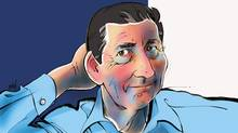 Illustration of Vancouver mining financier and environmentalist Ross Beaty. (ANTHONY JENKINS/THE GLOBE AND MAIL)