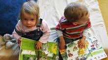 Children look at picture books at a kindergarten in Berlin. (John MacDougall/AFP/Getty Images/John MacDougall/AFP/Getty Images)