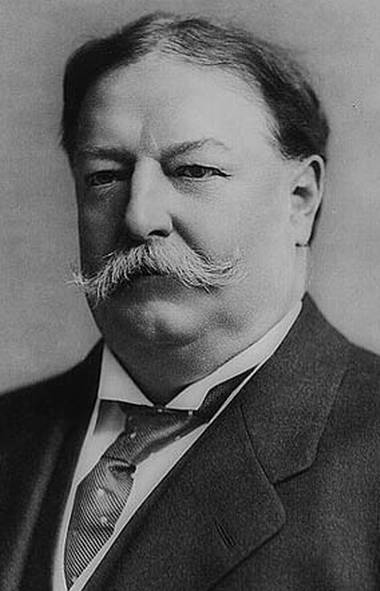 U.S. president William Howard Taft.