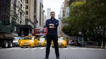 Matt Friesen, CEO and co-founder of the fashion website Wantering, is pictured in New York City, where the company has an office. (Eric Thayer For The Globe and Mail)