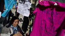 Angelica Choc is the widow of Guatemalan activist Adolfo Ich Chaman who was allegedly killed by private security in 2009 at a mine once owned by Toronto-based HudBay Minerals. (Peter Power/The Globe and Mail)