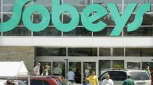 Residents of Nova Scotia shop at a local Sobeys supermarket. (Ingrid Bulmer/CP)