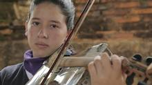In a village in Paraguay built almost on top of a landfill, trash is being transformed into instruments.
