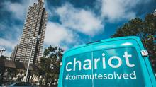 Chariot is a microtransit service in San Francisco that operates 70 15-seat Ford vans on a network of eight routes, which aims to help public transit by helping passengers get to and from mass-transit stations. (Eric Luis)