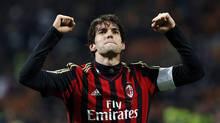 AC Milan's Kaka celebrates (Reuters)