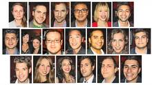 composite from young entrepreneur event (Katherine Scarrow / Globe and Mail)