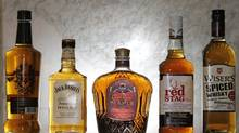 Whisky traditionalists may not be tempted, but the flavoured-whisky market is one of the fastest-growing alcoholic-beverage segments. (Fernando Morales/The Globe and Mail)