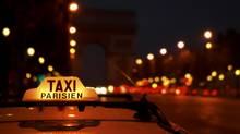 The Uber app for ordering a taxi is popular and efficient – no wonder Paris taxi drivers turned violent over this online booking service. (Getty Images/Fuse)