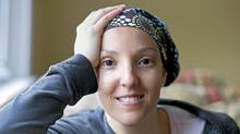 Jill Anzarut, who will begin Herceptin treatment tomorrow, is photographed in Toronto, Ont. May 12/2011. Ontario moved Thursday to fund the breast-cancer drug Herceptin for small tumours. (Kevin Van Paassen/The Globe and Mail)