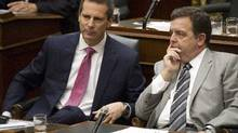 Ontario Premier Dalton McGuinty: Friends and foes are weighing his legacy. (The Canadian Press)