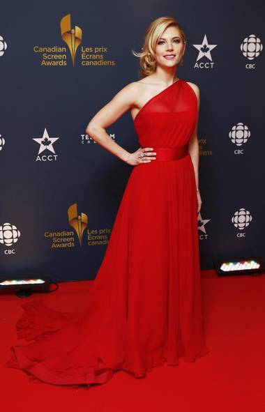 Actress Katheryn Winnick. (MARK BLINCH/REUTERS)