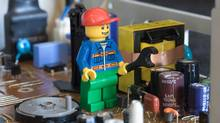 'Some scholars believe that playing with Lego bricks helps kids, and even adults, train creativity skills. Our research suggests that is probably right,' PhD candidate Yeun Joon Kim of Rotman says. (Alamy)