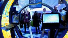 Intel is a well-known brand and some analysts the company's name and quality will translate to new uses and new revenue in the future. (Steve Marcus/REUTERS)