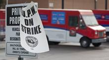 Canada Post on strike. (Jeff McIntosh/The Canadian Press)
