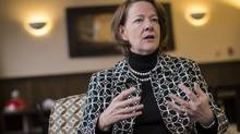 Alberta Premier Alison Redford was set to visit Canadian troops – some of them Alberta-based – in the Afghan capital on the weekend. (Jeff McIntosh For The Globe and Mail)