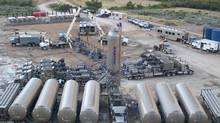 A Gasfrac Energy Services Inc. operation in Colorado. (Gasfrac)