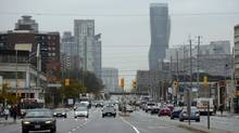 The next mayor of Mississauga will have to go through 'four years of hell.' Problems include crumbling infrastructure, and funding a planned LRT line on Hurontario street. (Fred Lum/The Globe and Mail)