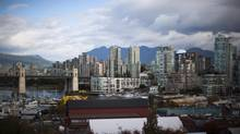 Photo overlooking Granville Island is seen in downtown Vancouver, British Columbia. Mayor Gregor Robertson has a motion going to council Tuesday asking city staff to explore buying or leasing Granville Island as a way of retaining local control. (Rafal Gerszak For The Globe and Mail)