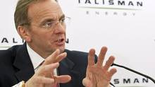 It was announced Sept. 10, 2012, that Talisman CEO John Manzoni would step down. (Jeff McIntosh/The Canadian Press)