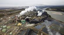 The Suncor oil sands processing plant near the Athabasca River at their mining operations near Fort McMurray, Alta. (TODD KOROL/REUTERS)