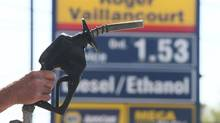Gasoline is one of the main drivers of inflation, with prices up 4.7 per cent from last year. (Christinne Muschi For The Globe and Mail)