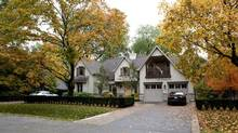 The 2009 Princess Margaret Lottery dream home in Oakville, Ont. (Della Rollins/The Globe and Mail)