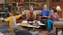 Johnny Galecki and Jim Parsons in a scene from The Big Bang Theory. (Monty Brinton/THE ASSOCIATED PRESS)