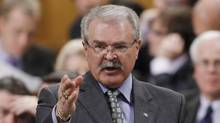 Agriculture Minister Gerry Ritz speaks during Question Period in the House of Commons on April 23, 2012. (FRED CHARTRAND/THE CANADIAN PRESS)