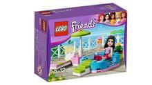 Lego's Friends set #3931: Emma's Splash Pool (thebrickblogger.com/thebrickblogger.com)