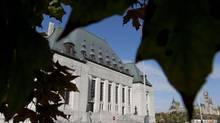 The Supreme Court of Canada building in Ottawa. (Adrian Wyld/THE CANADIAN PRESS)