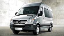 Mercedes has been selling the Sprinter alongside S-Class luxury sedans since January, 2010. (Mercedes-Benz)