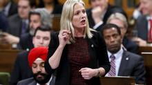 Canada's Environment Minister Catherine McKenna speaks during Question Period in the House of Commons on Parliament Hill in Ottawa, Canada, February 3, 2016. (Chris Wattie / Reuters)